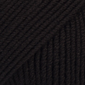 BABY MERINO 21 black - 6 ks