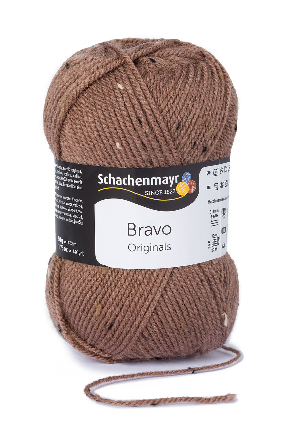 BRAVO 8374  wood tweed